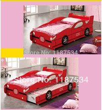 Lovely children beds car model children beds lovely children furniture bunk bed(China)
