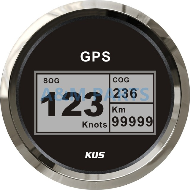 KUS Boat GPS Speedometer Electric Marine Truck Car RV Digital LCD Speed Gauge SOG COG Knots_640x640 kus boat gauge wiring auto gauge wiring \u2022 wiring diagrams galls traffic buster code 3 wiring diagram at gsmx.co