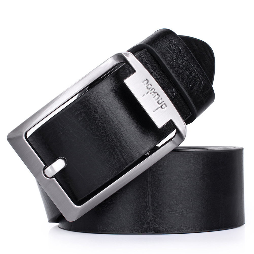 Fashion Men Faux Leather Belt  Fashion Men 's Casual Wide Concise Style Belt  High Quality