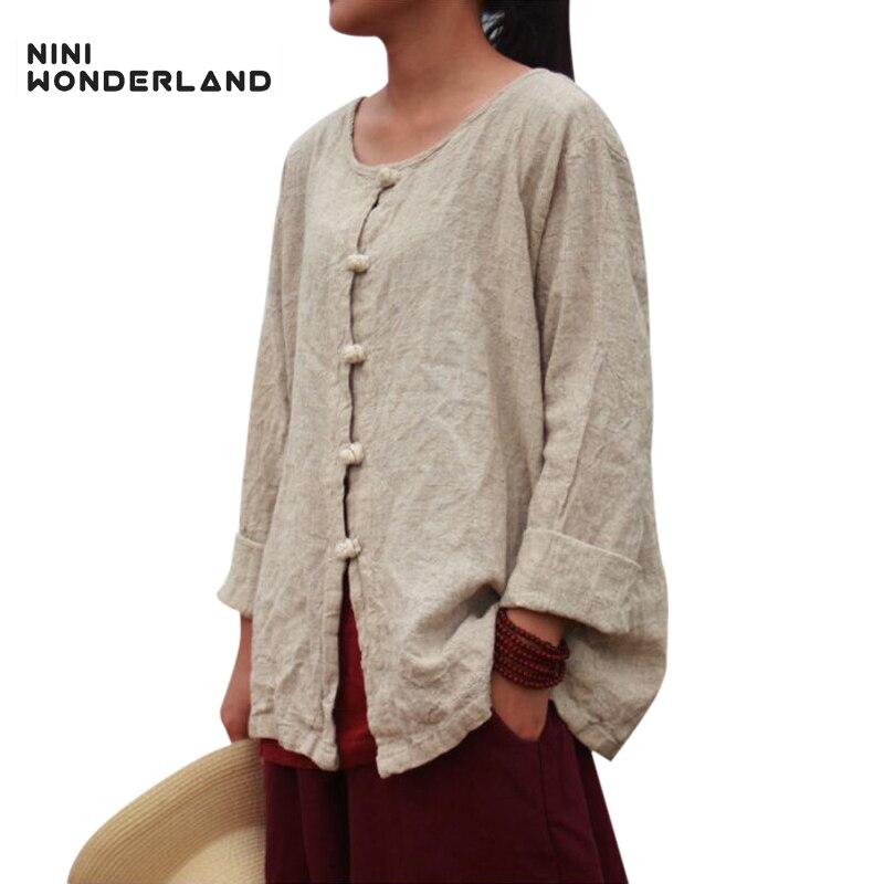 105059c344bb69 NINI-de-PAYS-DES-MERVEILLES-Nouveau-printemps-automne-femmes -manches-longues-col-rond-blouses-chemises-L.jpg
