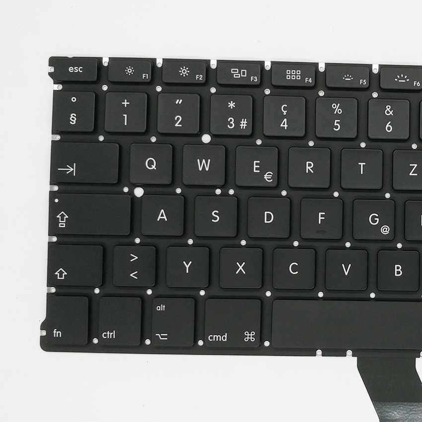 Nowa klawiatura szwajcarska A1369 A1466 dla Macbook Air 13 ''2011-2015 lat