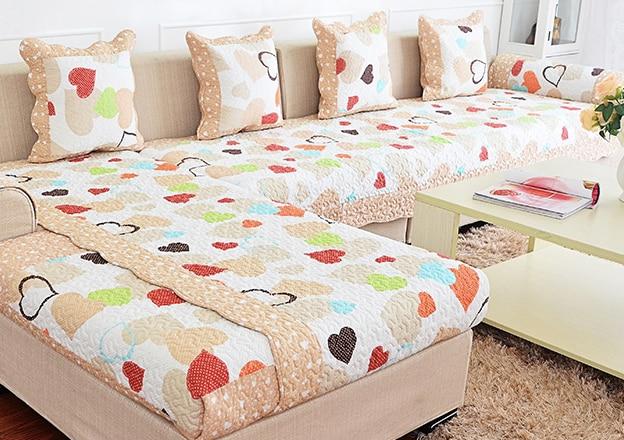 hot sale sofa covers slip resistant sofa towel sofa slipcover heart pattern for sofa in sofa. Black Bedroom Furniture Sets. Home Design Ideas