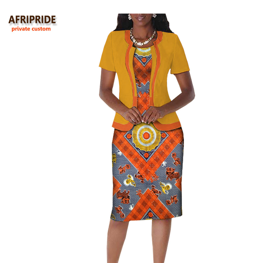 2017 autumn african clothes casual women suit afripride for Best dress shirts 2017