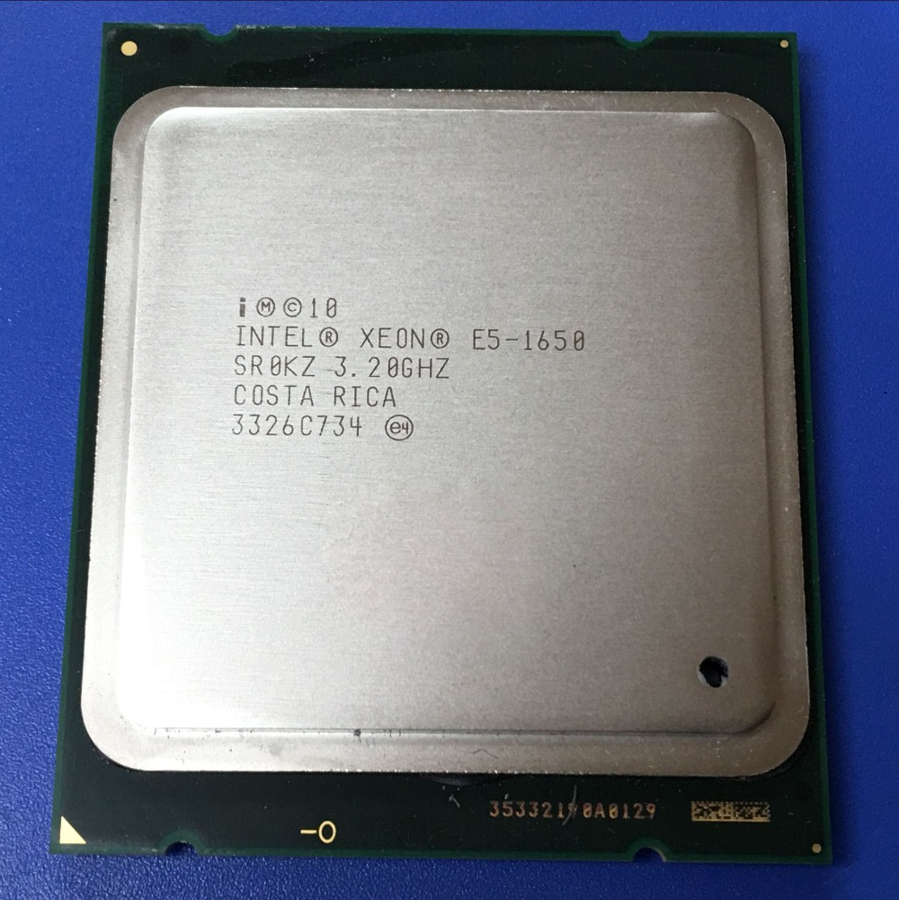 Computer hardware DIY HUANAN ZHI Deluxe X79 motherboard M.2 CPU Intel Xeon E5 1650 C2 3.2GHz with cooler RAM 16G(2*8G) REG ECC