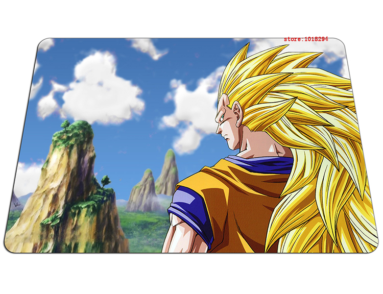 Dragon Ball mouse pad SSJ sun Goku mousepad laptop Dragon Ball Z mouse pad gear notbook  ...