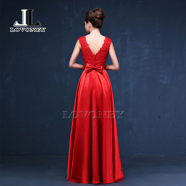 LOVONEY 2019 Sexy Open Back Long Golden Evening Dress Plus Size Evening Gown Formal Prom Party Dresses Robe De Soiree S306 Evening Dresses