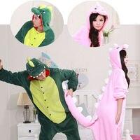Super Natural Women Men Adult Winter Spyro Dragon Kigurums Pink Green Grey Dinosaur Pajamas Onesie Cosplay