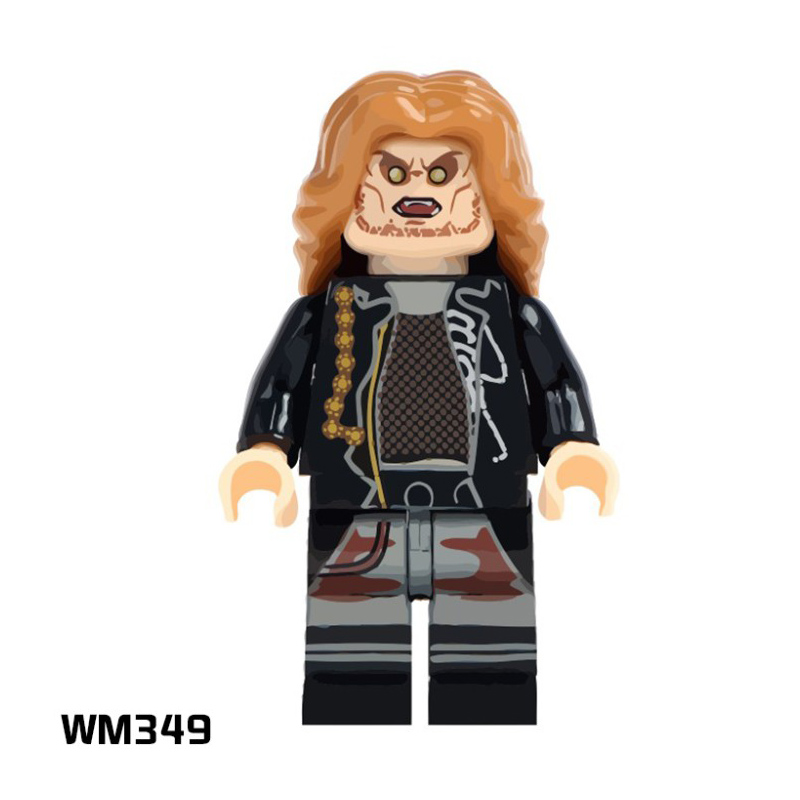 The horror Theme Movie legoings figurines freddy Krueger toys Super Heroes Action Figures Building Blocks for Children Gifts