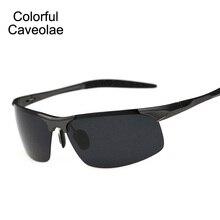 New 2017 Men Brand Sunglasses Polarized Aluminum Magnesium Man Dark Glasses Luxury Driving Men's Sun Glasses
