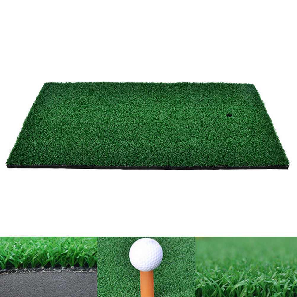 37x25cm Backyard Golf Mat Residential Training Hitting Pad Practice Rubber Tee Holder Drop Shipping