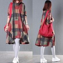 2017 Autumn Winter Maternity Dresses Long Sleeve Bohemian Dress Clothes for Pregnant Women Maternidade Pregnancy Clothing CE090