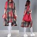 2017 outono inverno maternidade vestidos manga comprida bohemian dress roupas para mulheres grávidas roupa de maternidade gravidez ce090