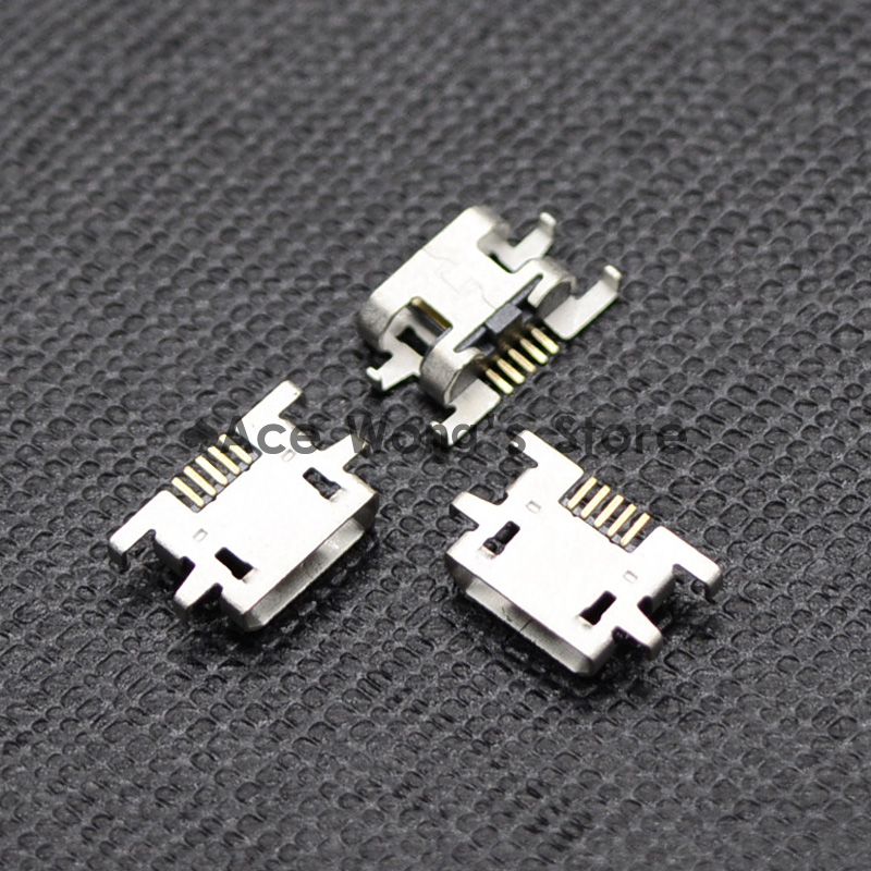10pcs Micro USB Jack Connector Female 5 pin Charging Socket For Xperia M C1904 C2004 C2005
