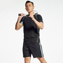 SnYv Vivinary 2019 летние спортивные костюмы бег хлопок для человека 2 цвета Специальное предложение
