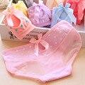 Séries menina 2016 candycolor costura lace calcinhas underwear mulheres sexy oco semi-círculo de pequenas babadores para bebês calcinha das mulheres calcinha
