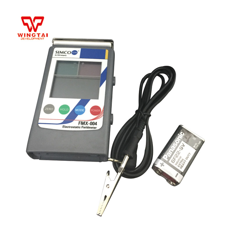 Japan SIMCO FMX004 Electrostatic Field meter Static Electricity Measurement Digital electrostatic meter FMX-004 feita sl 030b test equipment electrostatic field meter static surface resistance tester with hammers