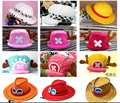 Anime One Piece Cosplay Tony Chopper Plush Cotton Cap Hat, Tony 2Years after VER Hat