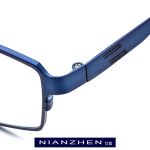 Image 2 - Óculos de titânio puro quadro masculino quadrado miopia óculos de olho óptico para homem vintage retro ultra luz completa fonex 1180