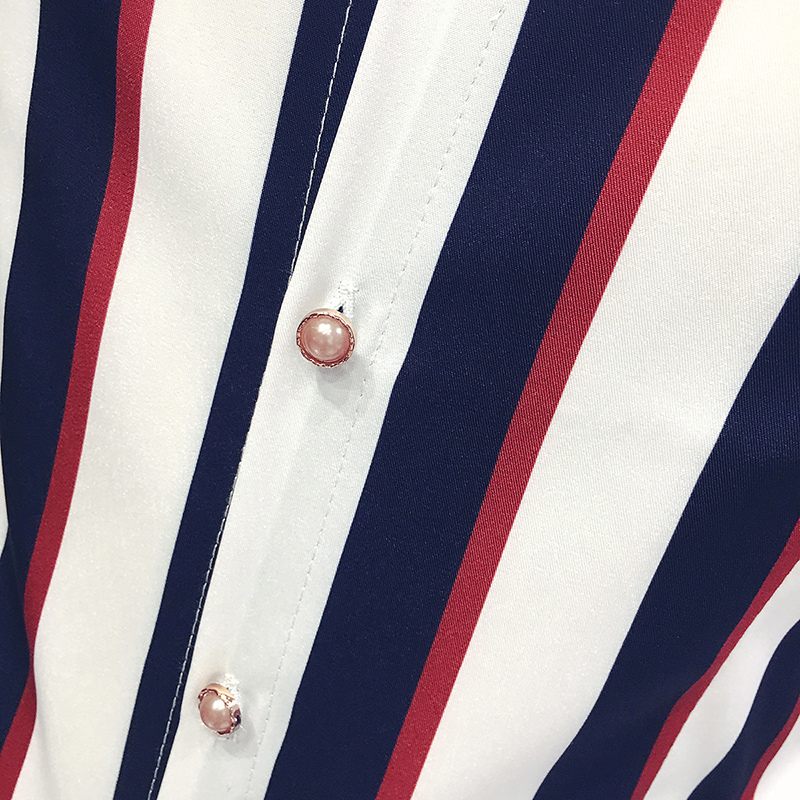 Chemise coréenne à rayures hommes marine noir rouge chemise à rayures hommes à manches longues robe boutonnée blouse hommes camicia uomo grande taille 5xl - 5