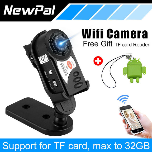New Q7 HD Mini DV Camcorder Digital Camera Infrared Night Vision Video Audio Recorder Webcam DVR Support 32G TF Card
