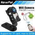 Novo q7 hd mini dv filmadora digital camera infrared night vision audio video recorder dvr webcam apoio 32g tf cartão