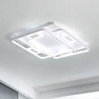 Modern Chandelier lighting For Living Study Room Bedroom Aluminum Modern Wave Led Ceiling Chandelier lustre lights Chandeliers