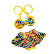 7d256dba2d 2018 New South Korean Baby Infant Swimsuit Split Mermaid Bikini Two-piece  Biquini Bathing Suit Baby Toddler Spa Swimwear SW108