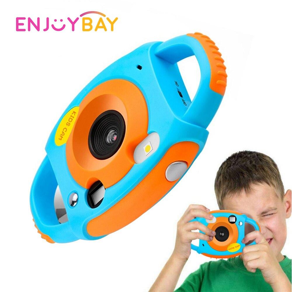 Enjoybay Mini Digital Photo Camera Toys 1080P Kids Automatic