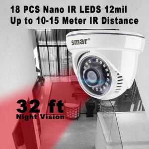 "Image 3 - Smar CCTV AHD Camera 4MP Security HD Camera 1/3"" CMOS 18pcs Nano IR Led Night Vision Indoor Surveillance Video Camera 3.6mm Lens"