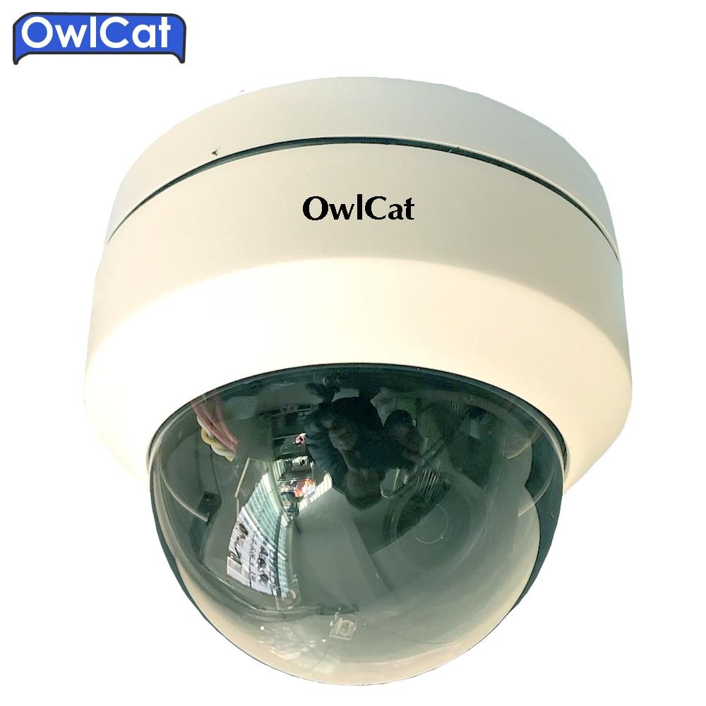 OwlCat SONY 1080P Mini CMOS Indoor Outdoor Security CCTV IP Camera PTZ 3X OpticaL ZOOM Auto