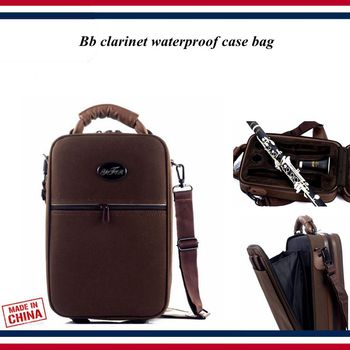 Clarinet accessories - Clarinet case - Bb clarinet waterproof case bag , backpack Portable bag - Clarinet parts фото