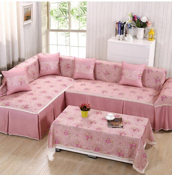 Free shipping Sofa cover full package everything set combination ...