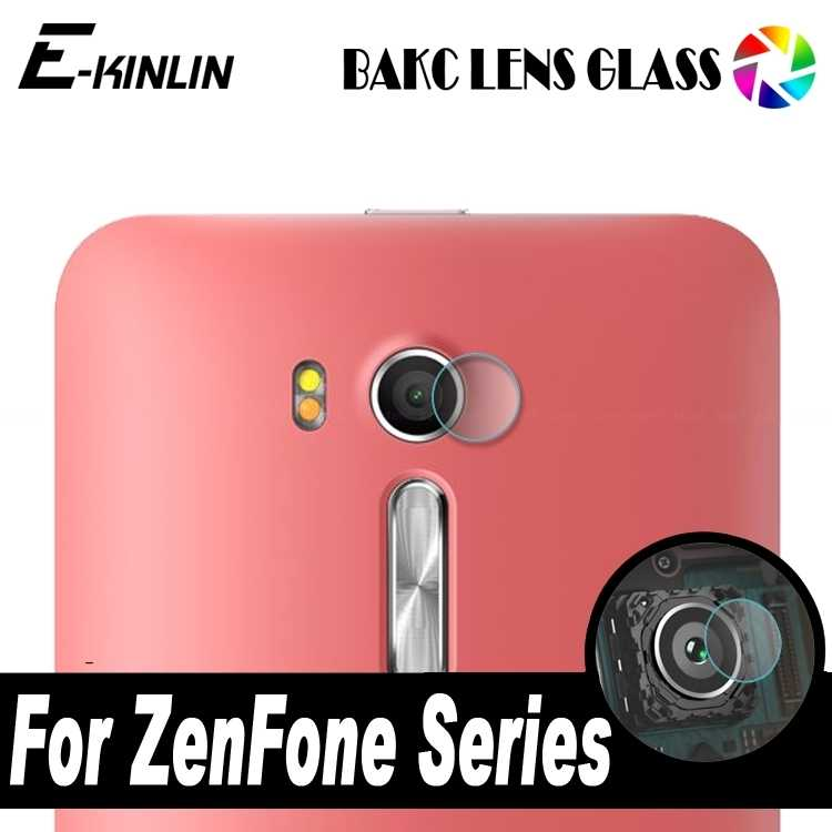 Câmera traseira lente filme vidro temperado para asus zenfone 3 ir tv ao vivo 6 zb501kl zb550kl zb551kl zb452kg zb450kl a600cg protetor