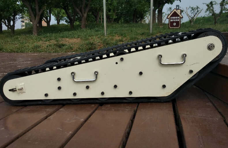 97cm Length Rubber Tracks Caterpillar Crawler For Model Tank Chassis Diy Parts Parts & Accessories