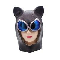 Halloween Blue Eyeglasses Cat Latex Mask Sexy Horn Fox Mask Mask Batman Hooded Cat Face Mask Role Play Bar Party Supplies