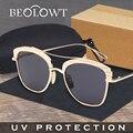 BEOLOWT Aluminio gafas de Sol Polarizadas Para Las Mujeres Conductor gafas de Sol de Espejo de Pesca Femeninos Al Aire Libre Sports Eyewear UV400 BL231