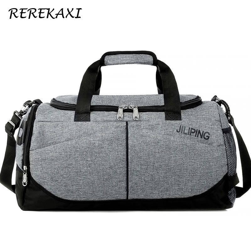 Men Travel Bag Women Large Capacity Luggage Handbag Male Canvas Duffle Bag Travel Female Shoulder Bags Foldable Luggage Bags