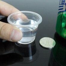 ПП Материал производство кристально чистый 42 мл 1,5 унции пустые одноразовые для пикника на открытом воздухе пластиковые стаканчики для дегустации 200 штук в партии