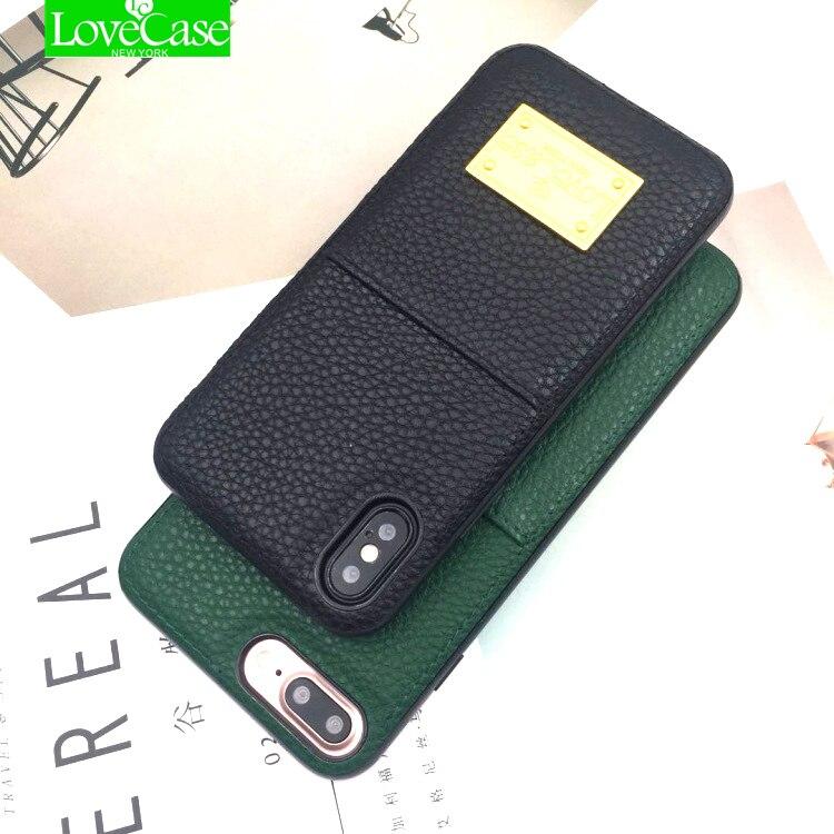 LoveCase i7 i8 Carte En Cuir Autocollant Poche Universel Carte de Crédit Portefeuille Cas Pour l'iphone X 8 Plus 7 Plus Femmes hommes Poche de Téléphone