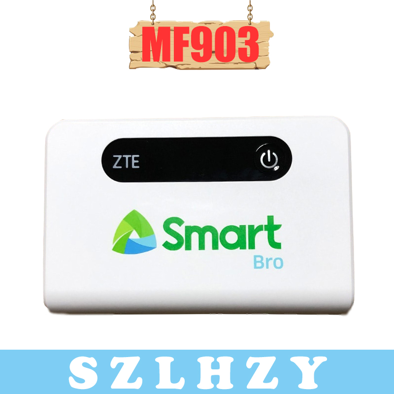 Unlocked <font><b>ZTE</b></font> <font><b>MF903</b></font> 4G LTE Pocket WiFi Router 5200mah Power Bank with rj45 Port 4G Router with SIM card slot PK HUAWEI E5770 image
