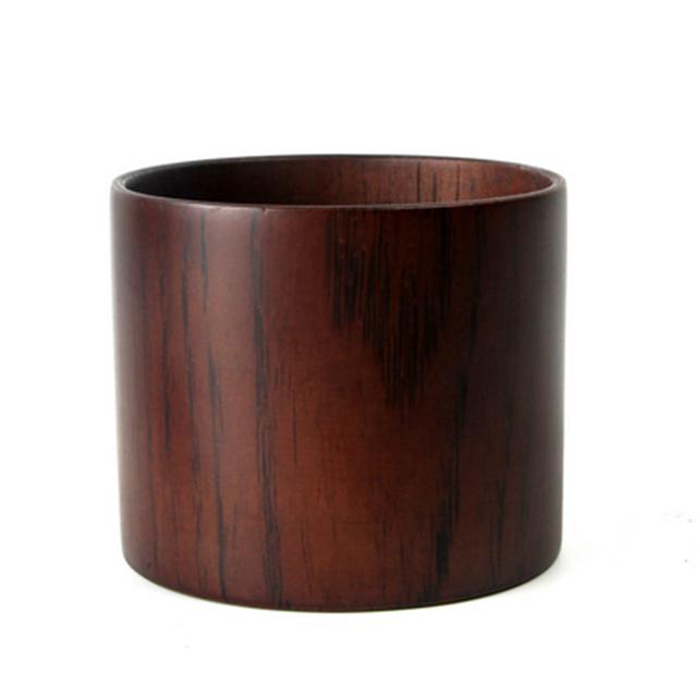 Compact Wooden Beer Mug