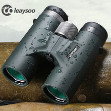 LEAYSOO 8X42 10X42 Binocular Low light level night vision profession Camping Hunting Telescope Optics Free Shipping