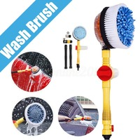 Car Truck Vehicle Auto Wash Brush Switch Foam Rotation Cleaning Cleaner Tool