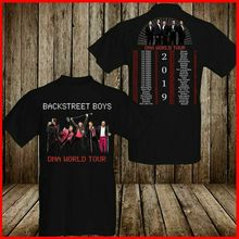Backstreet Boys DNA TShirt World Tour Concert 2019 T-Shirt Cotton Men Tee Brand Printed 100% T Shirt Top