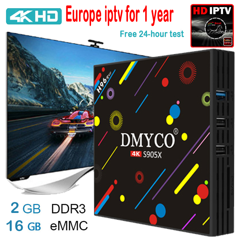 [Genuine] h96 pro plus 2g 16g Smart TV Box Android 7.1 Amlogic S905X OCTA Core Wifi 4K H.265 h96 media player h96pro set top box стоимость