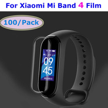 Mi Band 4 Screen Protector Film For Xiaomi Nfc Bracelet Miband Pantalla Miband4 Films 100 Pcs
