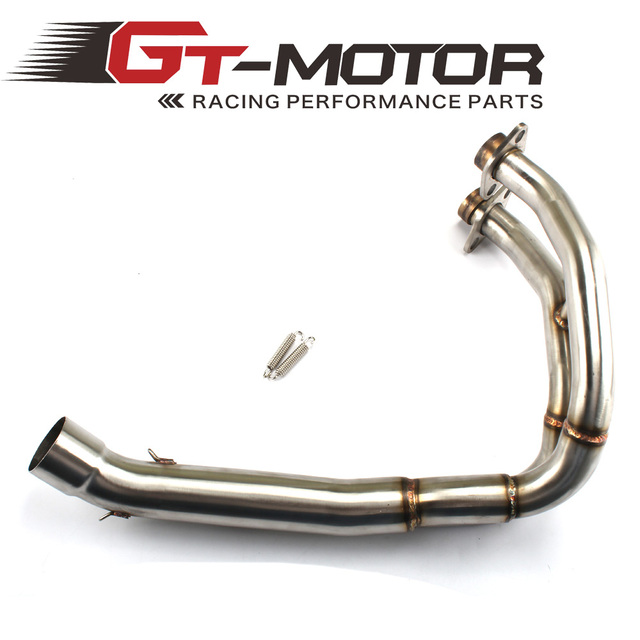 GT Motor - Exhaust Full system FOR KAWASAKI ER6N ER6F Ninja650R 2012-2016 without exhaust