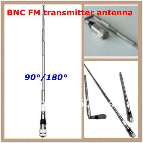 freeshipping new Professional FM Transmitter radio broadcast short Antenna BNC 87Mhz