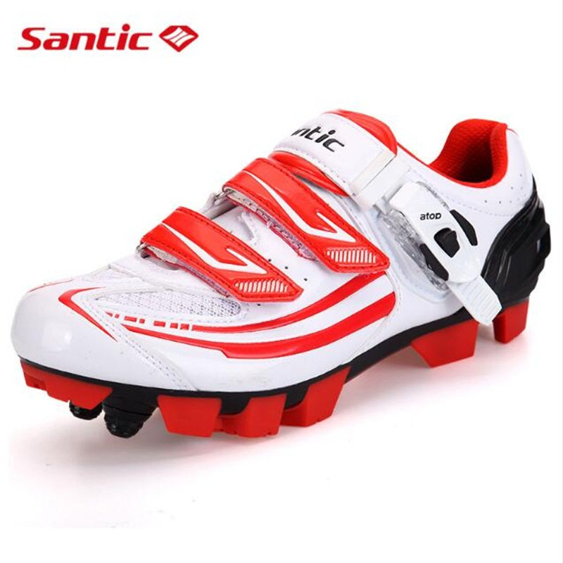 SANTIC Women MTB Cycling Shoes Men MTB Bike Shoes Athletics PU Self-Locking Mountain Bicycle Shoes Sneakers Zapatillas Ciclismo outdoor eyewear glasses bicycle cycling sunglasses mtb mountain bike ciclismo oculos de sol for men women 5 lenses