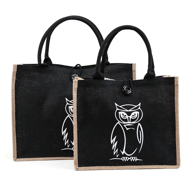 summer-flamingo-owl-linen-luxury-tote-large-capacity-female-casual-shoulder-bag-handbag-for-women-fresh-beach-shopping-bag